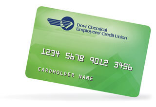 An image of the new green DCECU ATM card