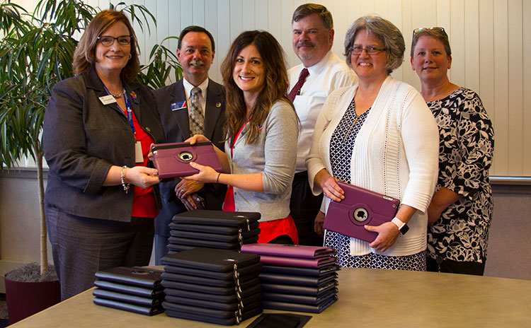 DCECU donates ipad mobile devices to CAN Council of the Great Lakes Bay Region