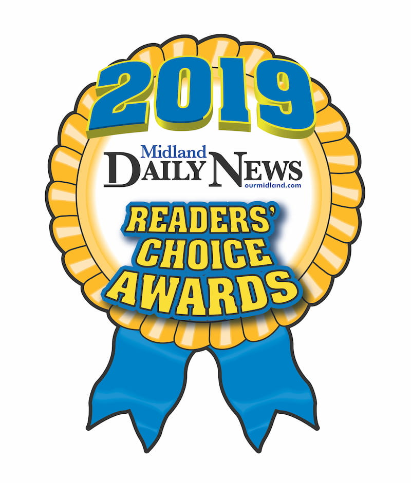 Midland Daily News Readers Choice Award logo